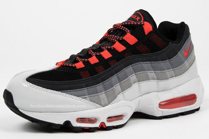 "Nike Air Max 95 ""Hot Red"" Colorway"