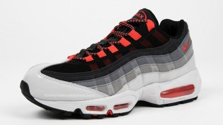 "Nike Air Max 95 ""Hot Red"" Colorway"