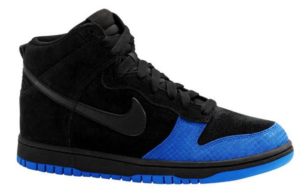 Nike Dunk High Black/Varsity Royal