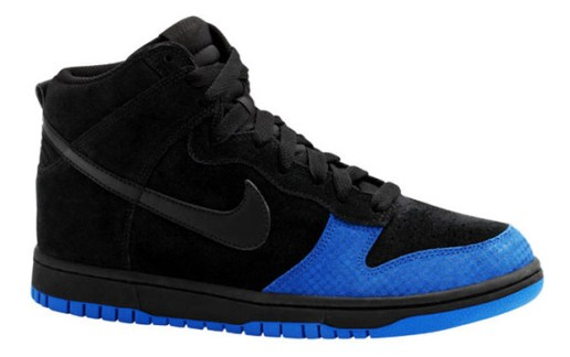 Nike Dunk High Black/Varsity Royal