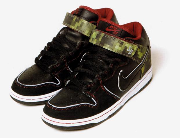 nitraid x Nike Dunk Mid Elite SB