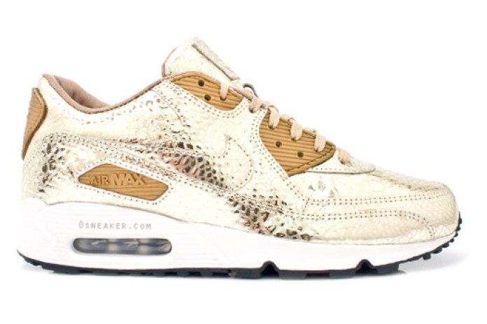 Nike Sportswear Air Max 90 Metallic Gold Croc