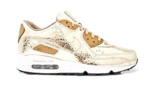 Nike Sportswear Air Max 90 Metallic Gold Croc