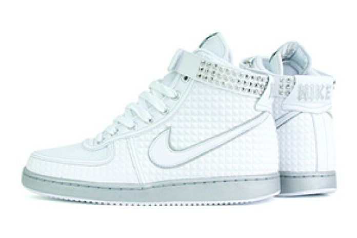 "Nike Vandal Hi ""Heavy Metal"" White Colorway"
