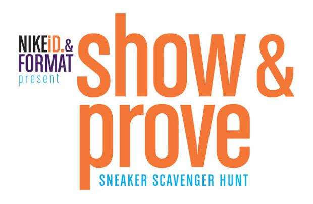 """NIKEiD x Format NY """"Show & Prove"""" Scavenger Hunt"""