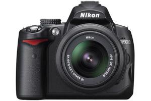 Nikon D5000 DSLR Camera