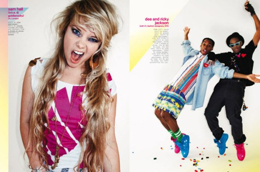 NYLON Magazine May 2009 Nike Dunk Spread