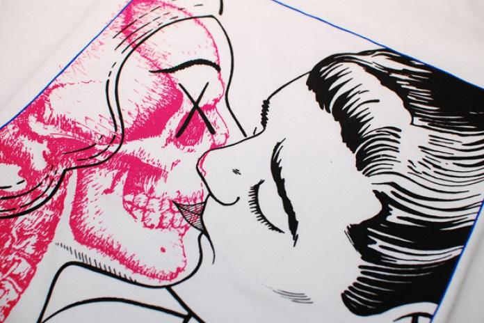 OriginalFake Skull Kiss One Tee