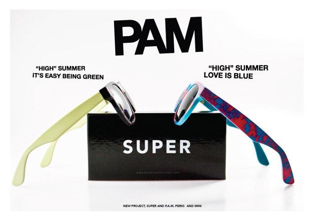 PAM x Super Sunglass Collection