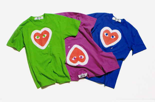 PLAY COMME des GARCONS Product at the Stage