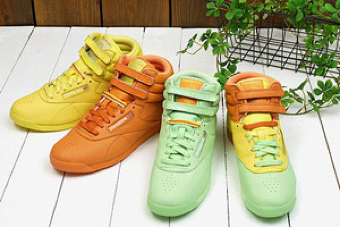 Reebok Freestyle Hi 2009 Spring/Summer Colorways