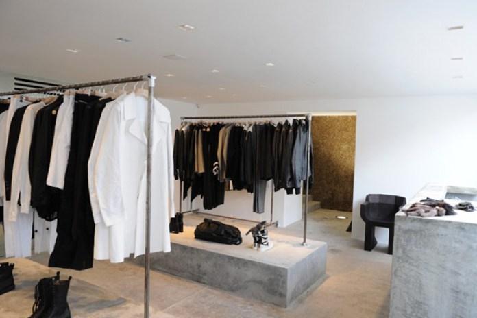 Rick Owens London Store Opening