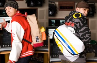 SDP x SAG Collaboration Backpack & Messenger Bag