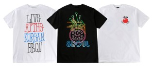 Stussy Seoul Chapter Store Exclusive Tees
