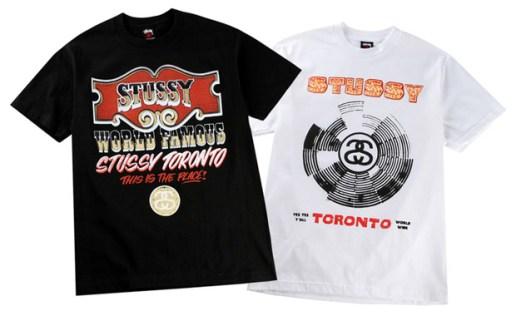 Stussy Toronto 1 Year Anniversary Tees
