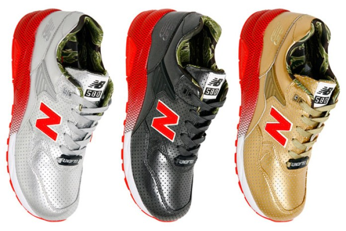 "Stussy x Undefeated x realmad HECTIC ""Full Metallic Jacket"" New Balance MT580 - A Closer Look"