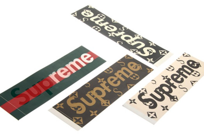 Supreme Sticker Archive