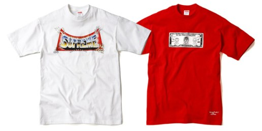 Supreme T-shirts by Pedro Bell
