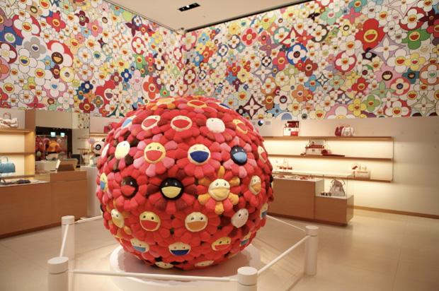 Takashi Murakami for Louis Vuitton Omotesando Store Design