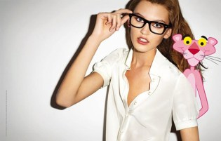 "Terry Richardson for ICB ""Girls Love the Pink Panther"" Campaign"