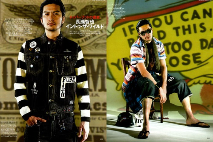 Tomoya Nagase for Neighborhood 2009 Spring/Summer