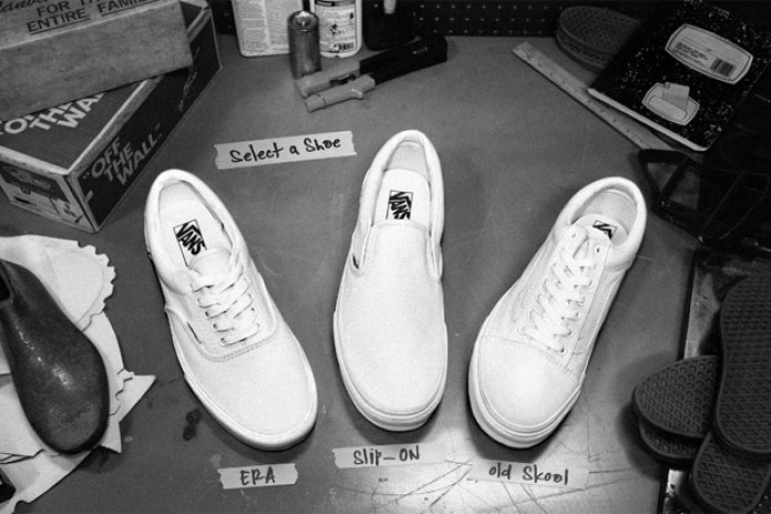 Vans Custom Shoes Relaunch
