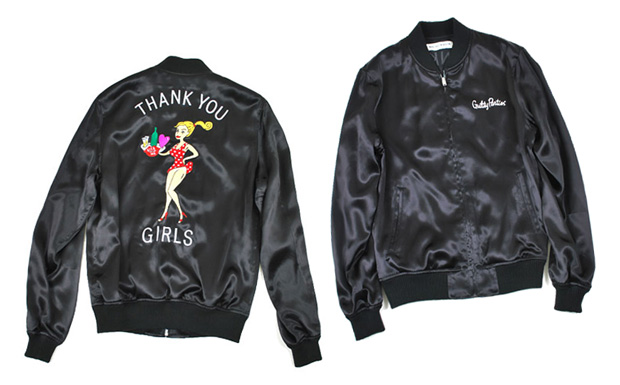"Wacko Maria Satin ""Thank You"" Jacket"