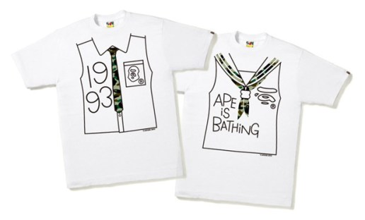 A Bathing Ape 2009 May T-Shirts New Releases