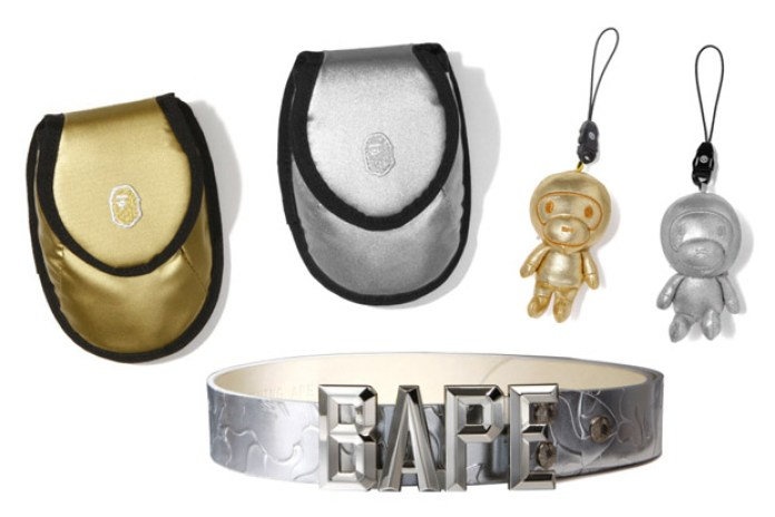 "A Bathing Ape 2009 Spring/Summer ""Silver/Gold"" Accessories"