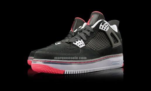 Air Jordan Fusion 4 Black/Cement Preview
