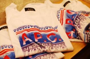 A.P.C. Hong Kong Store Grand Opening