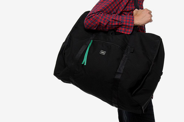 B Yoshida x Porter method Packable Boston Bag