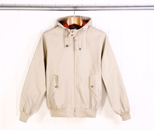 Baracuta G9 Vintage Fit Hooded Jacket
