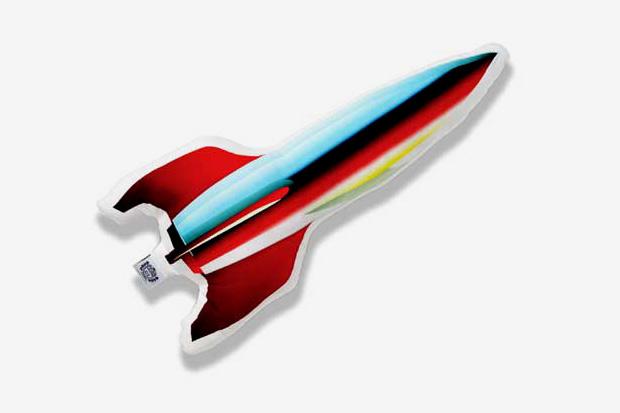 BBC | Ice Cream Rocket Ship Pillow