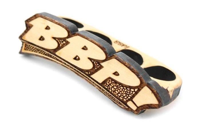 BBP 33 D/B 4 Finger Wooden Ring