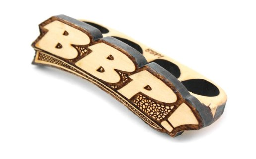 BBP 33 D/B 4 Finger Wooden Ring