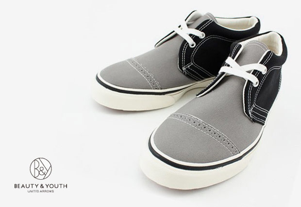 Beauty & Youth Canvas 2Tone Chukka