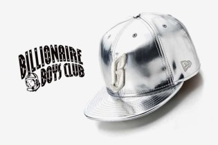 "Billionaire Boys Club New Era 59FIFTY ""Metallic B"" Fitted Cap"