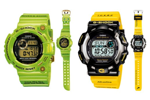 "Casio G-Shock ""Love the Earth and the Sea"" Frogman & Gulfman"