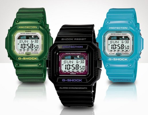 Casio G-SHOCK G-LIDE 2009 May Collection