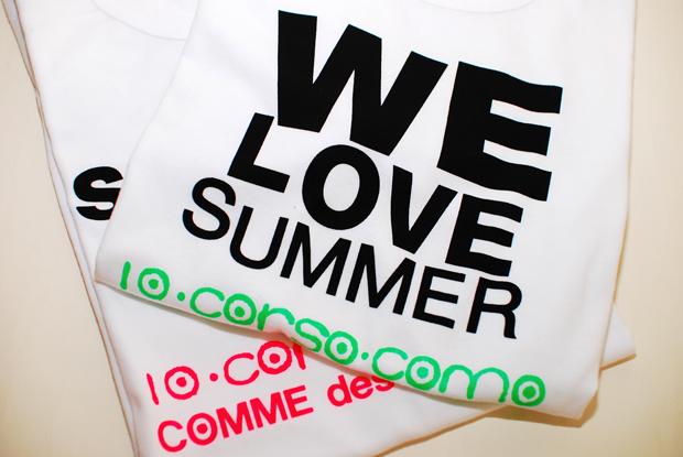 10 Corso Como x COMME des GARCONS SS '09 Tees