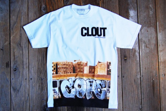CLOUT Magazine x COPE2 Limited Edition T-Shirt
