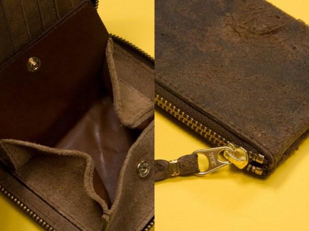 COMME des GARCONS Distressed Zip Wallets