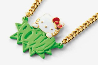 "CRASH HELLO KITTY x AMBUSH ""POW"" Pendant"