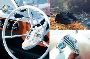 """DC LIFE Collection """"High Life on the Rivera"""" Dress Sneaker & Volcano"""