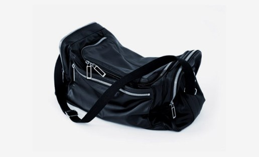 Dior Homme DH1 Leather Duffel Bag