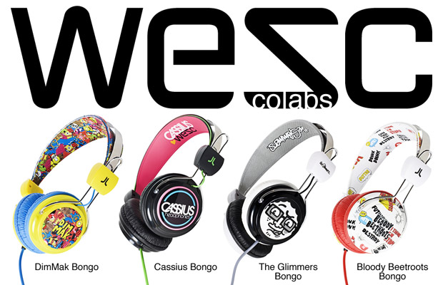 Dim Mak, Cassius, The Glimmers, Bloody Beetroots x WeSC Artist Bongo Collection