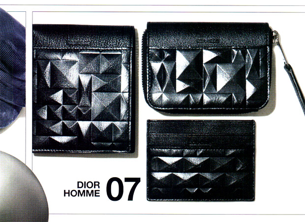 """Dior Homme 2009 Fall/Winter """"Angles"""" Wallet Collection"""