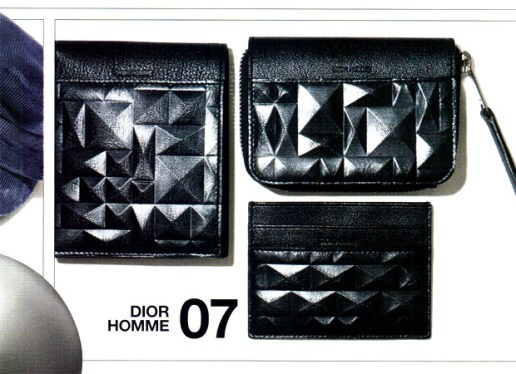 "Dior Homme 2009 Fall/Winter ""Angles"" Wallet Collection"