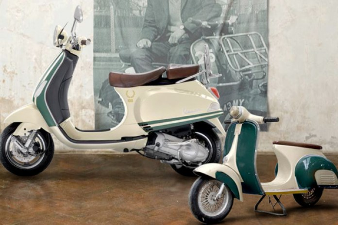 Fred Perry 100th Anniversary Vespa Scooter